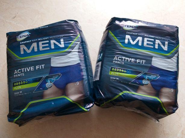 Pieluchomatki męskie M gratis podkłady