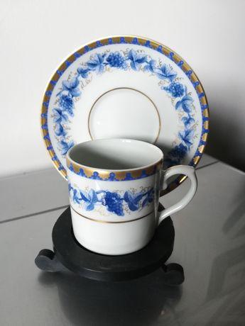 Chávena de café da vista alegre pintada à mão (Douro)