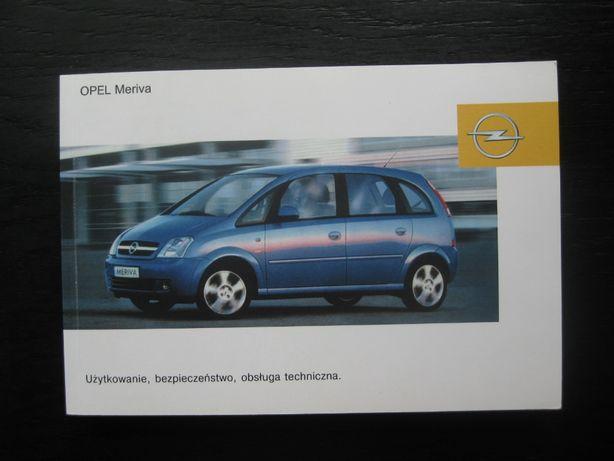 OPEL MERIVA A Polska instrukcja obsługi OPEL Meriva 03-10