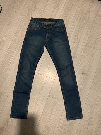 Męskie spodnie Calvin Klein Jeans CKJ CK jeansowe slim fit dżinsowe