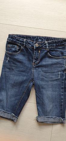 ZARA spodenki kolarki jeansowe 140cm
