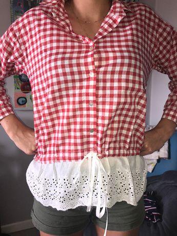 Piękna ,modna bluzeczka country w kratkę rozmiar M