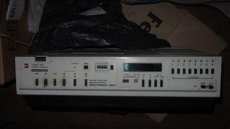 Видеомагнитофон Электроника ВМ12 - первый кассетный в СССР. Раритет.