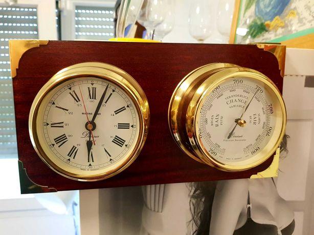 Zegar i barometr okretowy Rezerwacja.