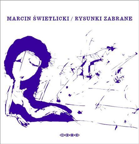 """Marcin Świetlicki """"Rysunki zabrane"""" album + 8 kart pocztowych"""
