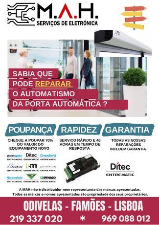 EMSL / UNI - Mecanismo Portas Automáticas Entrematic