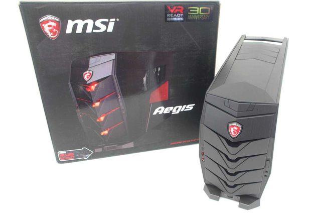 Torre Gaming MSI Aegis X com GTX 1080 + I7 6700 + 16GB RAM