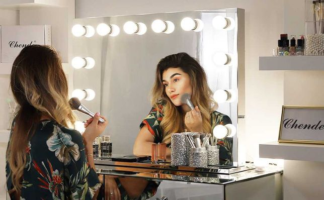 Vanity Mirror Light Hollywood Lustro do makijażu Make Up LED