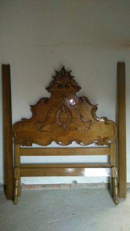 Cama casal Dão Pedro com mesas de cabeceira