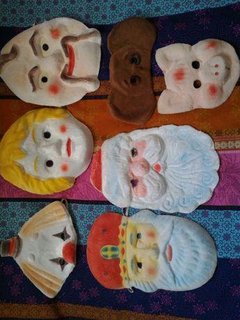 Карнавальні новорічні маски Безпечні для дітей Ровенська ф-ка іграшок