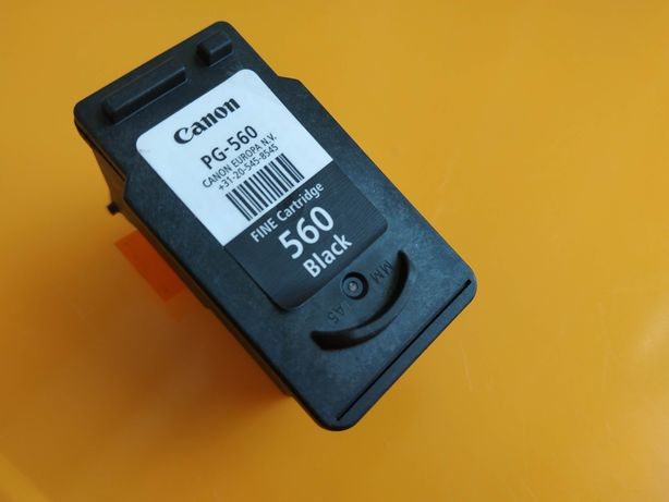 tusz Canon PG 560 PG-560 black czarny