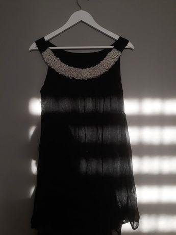 Sukienka z perłami w stylu lat '20/ M/L