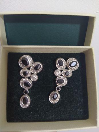 Срібні сережки YES
