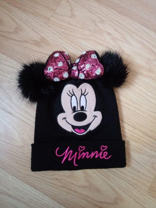Czapka zimowa czarna myszka minnie Disney pepco rozmiar 52 Twardogóra - image 1