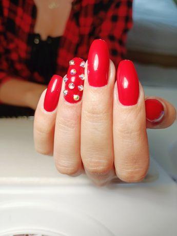 Manicure hybrydowy,stylizacja paznokci hybryda,paznokcie żelowe,dojazd