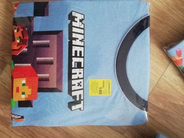 Piżama Minecraft r 146 długi rękaw. Nowy wzór