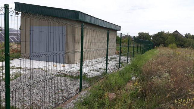 Забор из сетки/сетка для забора 3д/секционный забор Запорожье