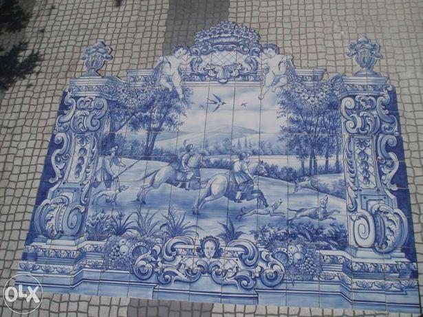 Painel de azulejo