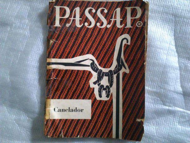 Livro de instruções PASSAP Automatic máquina de tricotar