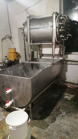 Ванна молочна для виробництва сиру