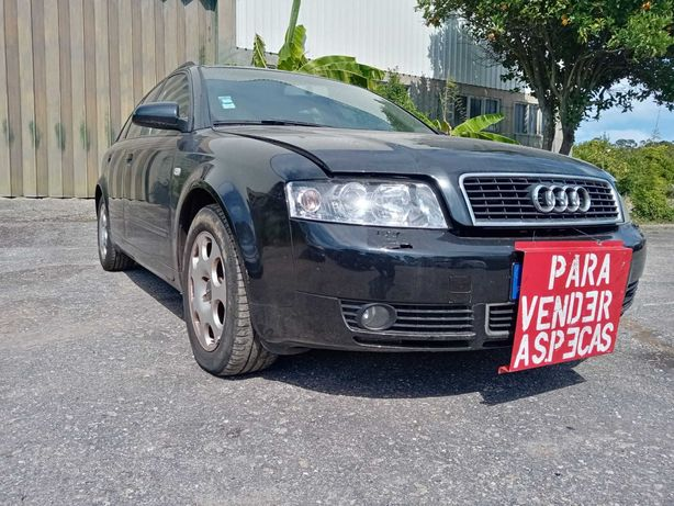 Audi A4 1.9 tdi motor AVF caixa automática avariada de 2004