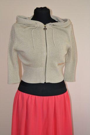 Sweterek z kapturem - S
