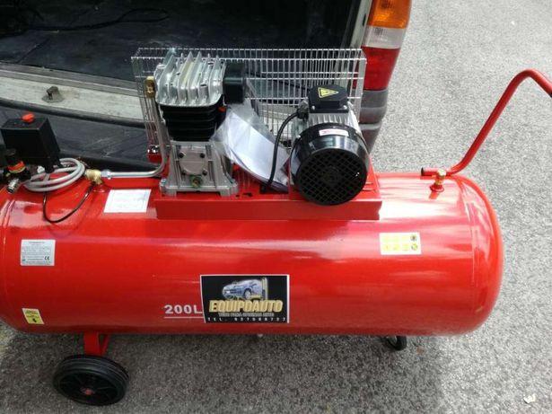 Compressor de 200 litros Novo