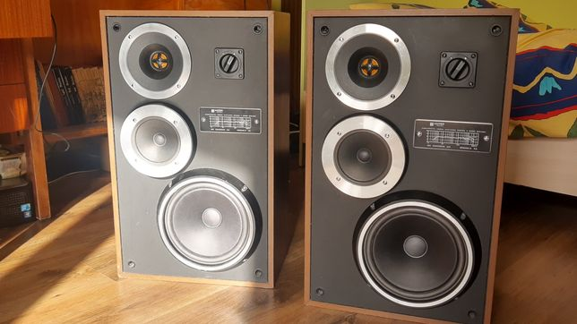 Kolumny Głośnikowe UNITRA Tonsil Zg40c 115 sprawne po regeneracji