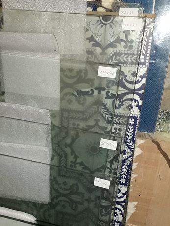Lote 2 peças Vidros temperado 111x32 bons acessos A1