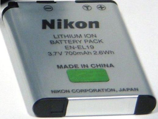Oryginalny Akumulator Nikon EN-EL19 / EL-19 3.7V 700mAh Oryginał