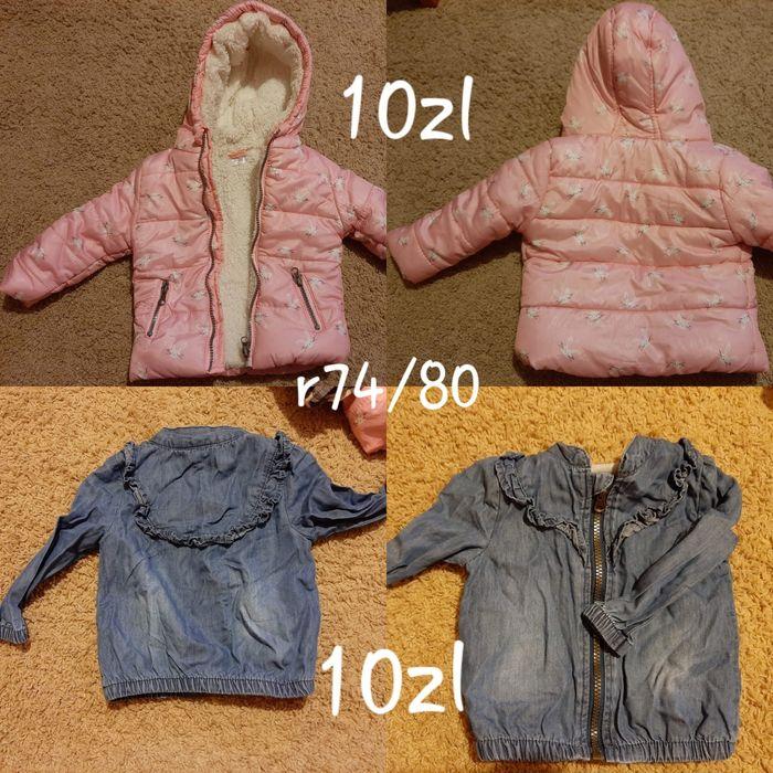 Ubranka dla dziewczynki rozmiar 74/80 Olsztyn - image 1