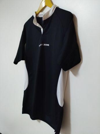 Camisola desportiva preta marca Sport Zone