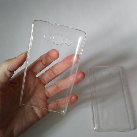Набор Чехол прозрачный+пленка LG L60 Dual X135