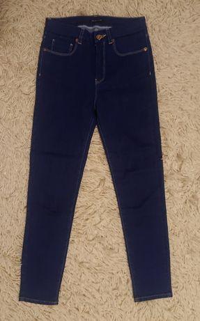 NOWE jegginsy jeansy slim skinny 34 XS Massimo Dutti