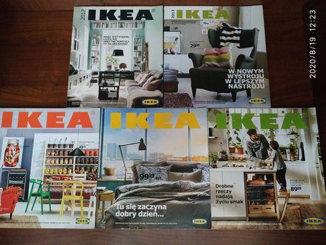 Katalogi IKEA od 2012 do 2016 roku