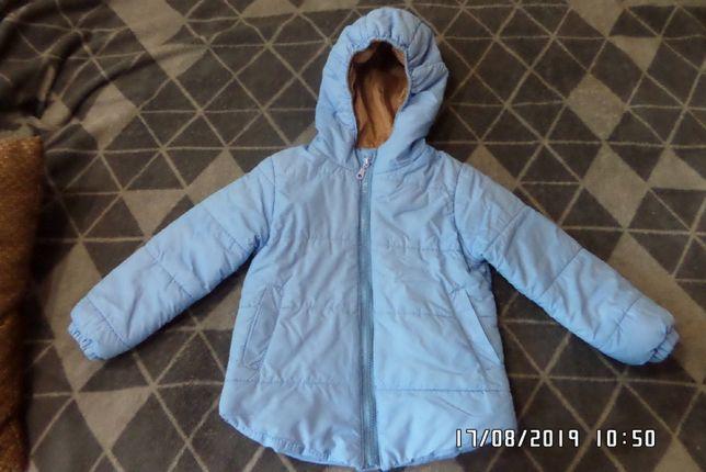 Дутая деми курточка рост 98-104 см