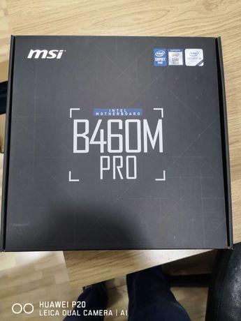 MSI B460m pro intel motherboard