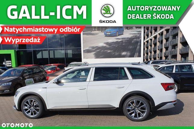 Škoda Superb SCOUT 2.0 TDI 4x4 DSG WYPRZEDAŻ w GALL ICM ! Rabat 27.200 zł !