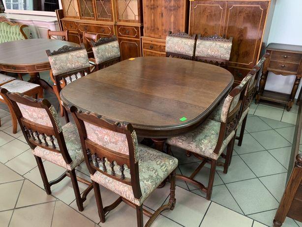 Stół drewniany/8 krzeseł/RATY