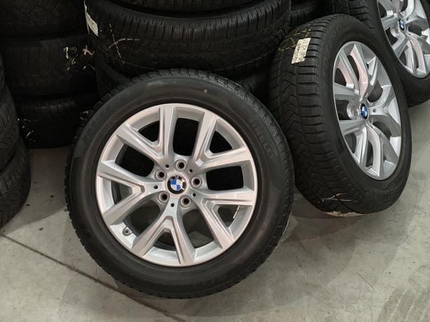 """Koła aluminiowe BMW X1 X2 F48 F39 17"""" 5x112 opony zimowe 205/60/17"""