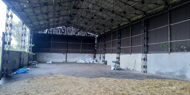 Будівництво ангар зерносховище клюшечник СТО піднавіс склад  з Б/У мат
