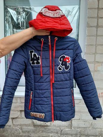 Осенняя куртка для девочки 11-12 лет