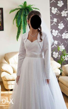 ZJAWISKOWA suknia ślubna typu princess