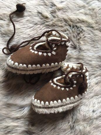 Buty góralskie kierpce dla niemowlaka