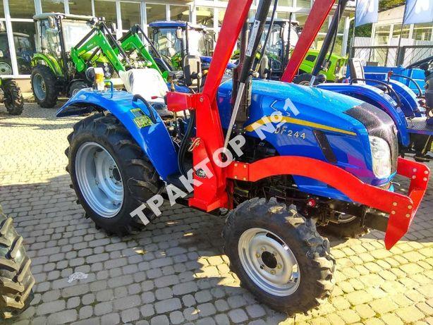 Трактор Донгфенг DF 244 Широкий DongFeng DHX Гарантія 2 роки Кредит
