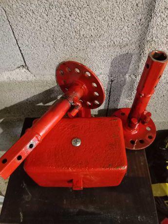 Motocultivador / Motoenxada - Peso frontal (20 kg) e suporte de rodas