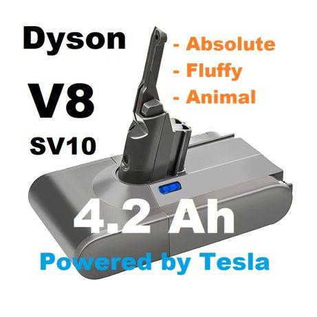 Akumulator Bateria Dyson V8 SV10 4,2 Ah TESLA !!!