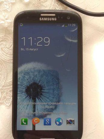 Смартфон Samsung Galaxy S3 1,5/16GB black (GT-I9300)