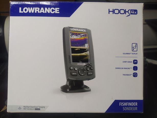 Эхолот Lowrance Hook 4x chirp