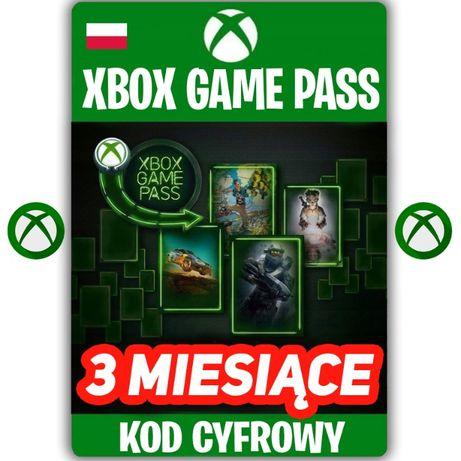 XBOX Game Pass 3 Miesiące KOD ZDRAPKA 90 DNI Xbox One KEY PL